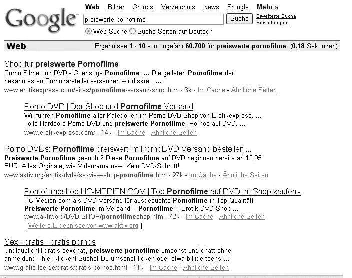 google pornofilme